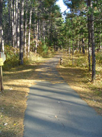 Hike and Bike Trail to Babbitt Beach